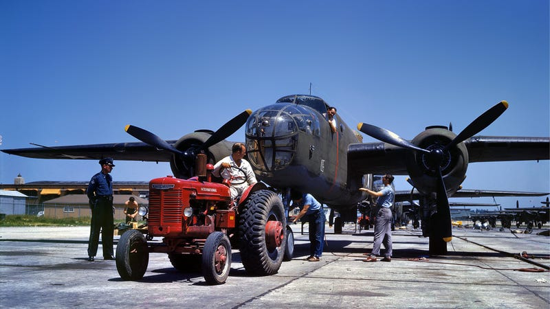 Check Out These Gorgeous Color Photos From World War II