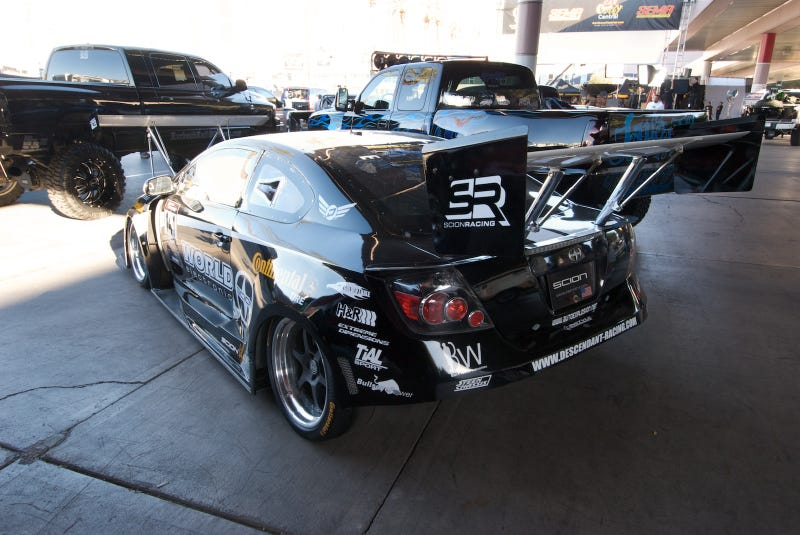 Huge Front Wing Compensates For Scion tC's FWD