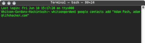 GoogleCL Brings Google Services to the Command Line