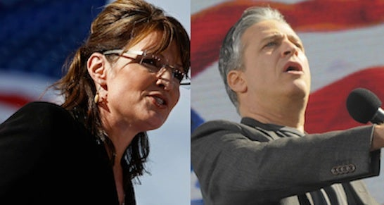 What Sarah Palin And Jon Stewart Have In Common
