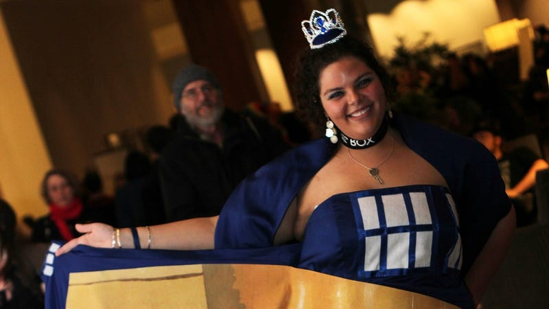 This is the most amazing TARDIS dress we've ever seen