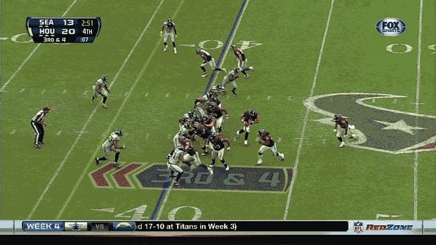 Seahawks-Texans Brought Us The Day's Craziest Ending