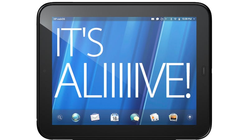 WebOS Lives! (Update: And HP's Still Making Tablets)