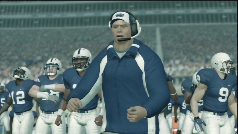 Here's Your First Look at Penn State's New Head Coach on the Sidelines