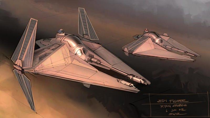 Bringing Back The Galaxy Far Far Away — Star Wars Prequels Concept Art