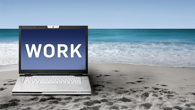 How to Do Work On Vacation (Without Going Crazy)