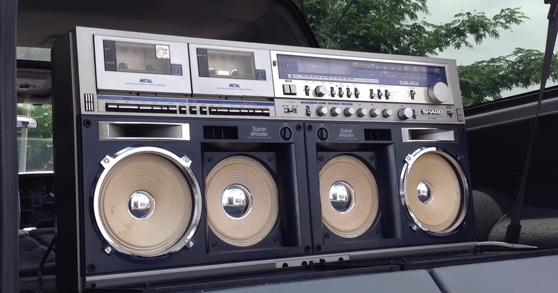 This Incredible Collection of 400 Vintage Boomboxes Is Up For Sale