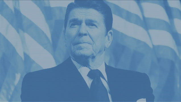 The Republican Party Has a Reagan Hologram But Is Scared It Would Upstage Romney