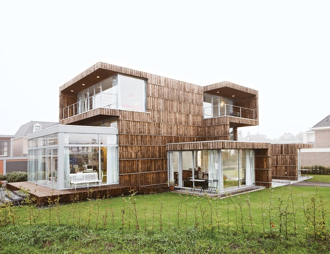 Architects Salvaged This House's Building Materials Using Google Earth