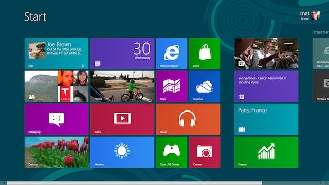 Windows 8 Coming in Late October