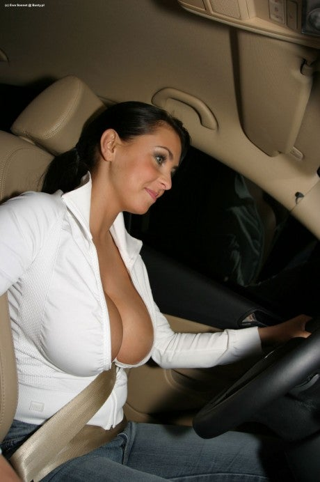 Sate Your Desire For Women Strapped Into Seat Belts