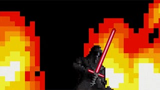 <i>Star Wars: The Force Awakens</i> trailer in 16-bit video game style is fun