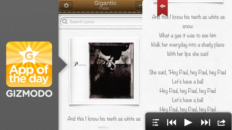 Strophes: The Beautiful Lyrics Reader Is Finally Mobile