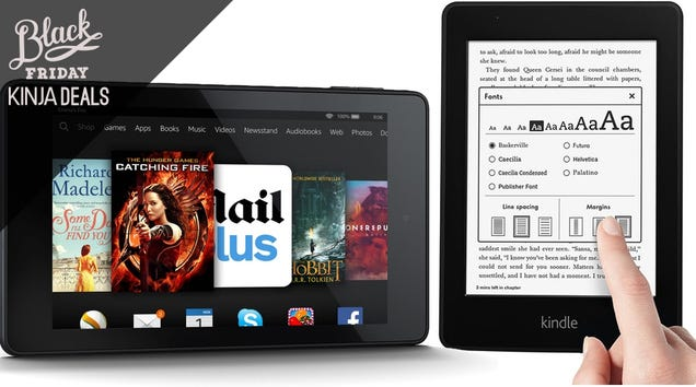 Amazon's Thanksgiving Kindle Sale Serves Up Some Tasty Discounts