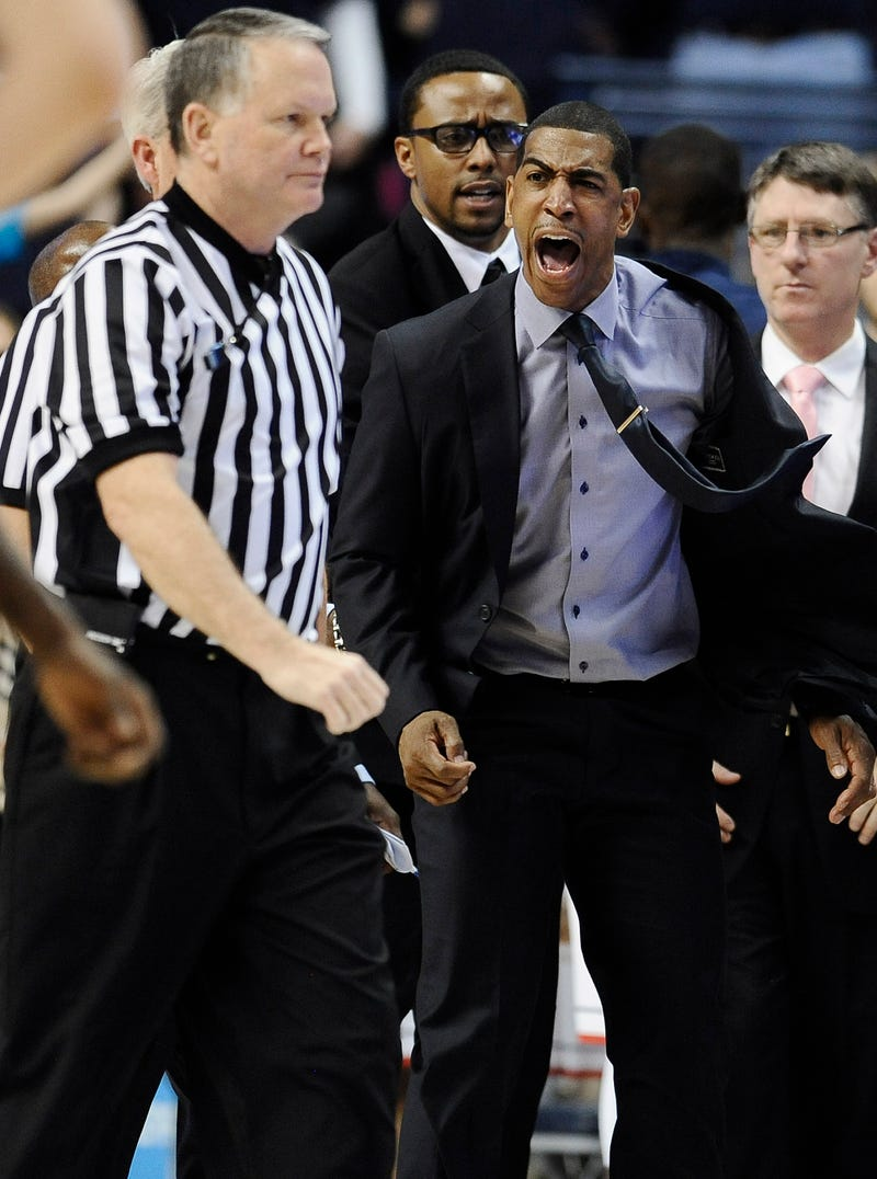 UConn Coach Kevin Ollie Flips His Shit After Uncalled Foul