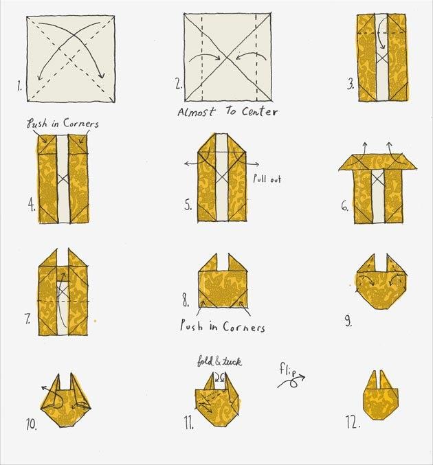 How To: Origami Millennium Falcon