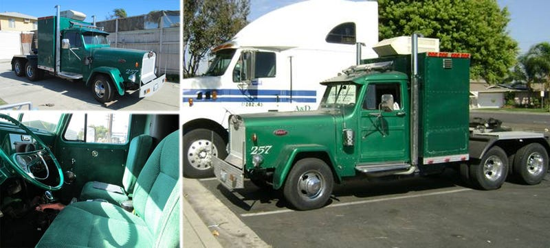 Willys Jeep Reincarnated As A Peterbilt Semi-Truck