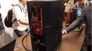 This Crazy Shape-Shifting PC Is the Gaming Rig Optimus Prime Would Use