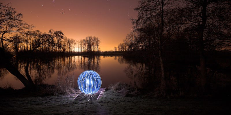 I'm Officially a Fan of 'Light Art Performance Photography'