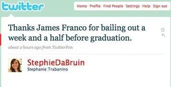 James Franco Totally Screwed UCLA's Grads, Brah