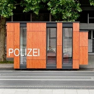 That's One Sexy-Looking Mobile Police Station