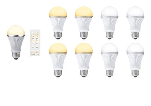 Sharp LED Lightbulbs Sets the White Point In Your Entire House