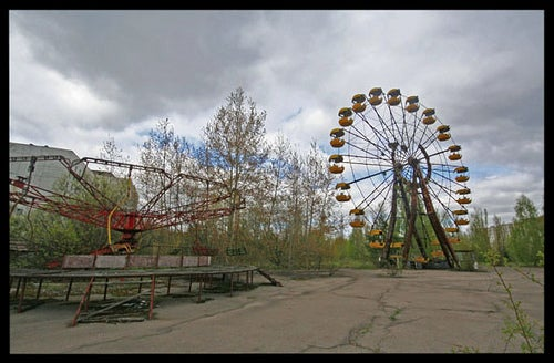 You will soon be able to visit beautiful, breezy Chernobyl