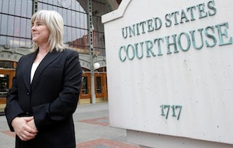 Lesbian Military Nurse Wins In Court, Hands DADT More Nails For Coffin