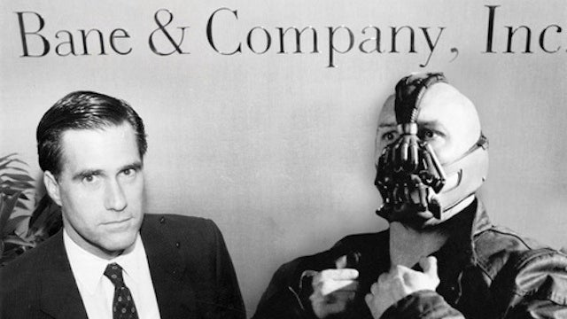 Bane Capital tweets its corporate takeover of Gotham City