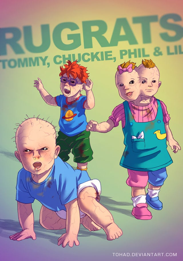 These Are Not The Cute Childhood Characters I Remember