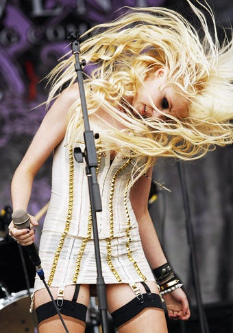 17-Year-Old Taylor Momsen: 'Music Keeps Me Young'