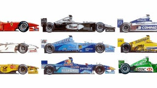 Be Hypnotized By 30 Years Of Formula 1 Evolution GIFs