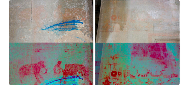 An Algorithm Revealed 200 Lost Paintings on Angkor Wat's Ancient Walls