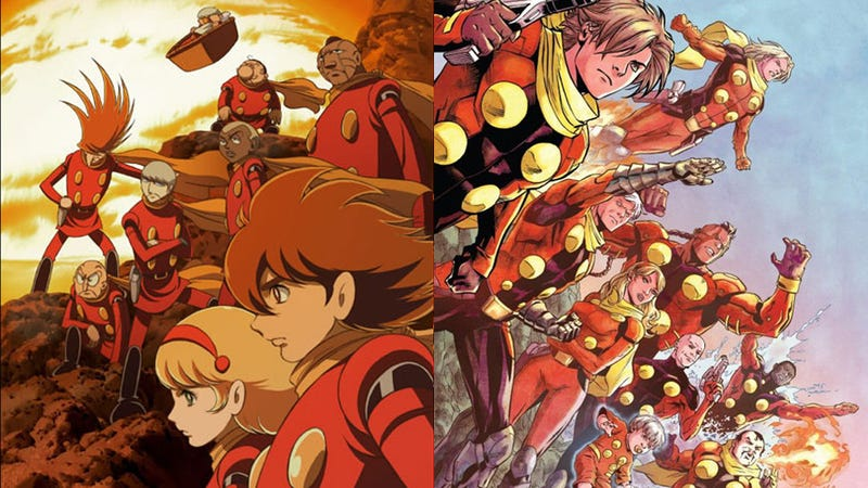 I Love Cyborg 009, and the New Graphic Novel Does Not Disappoint