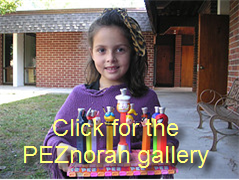 DIY Holiday Contest: The PEZnorah