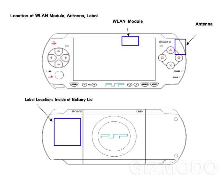 FCC Confirms PSP Redesign Number 3001 With Few Visible Improvements