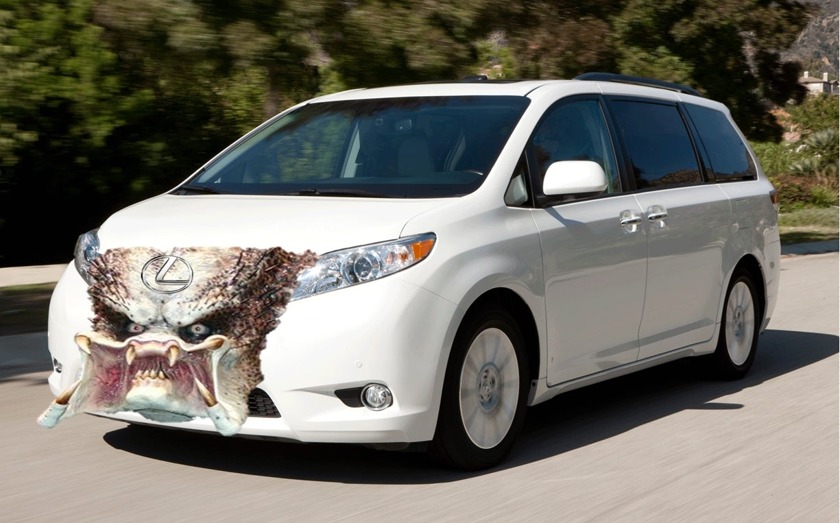 How Fast Can They Make A Toyota Sienna Look Like An Angry Lexus?