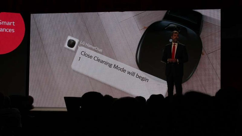 LG Home Chat: One Service That Tells All Your Appliances What To Do