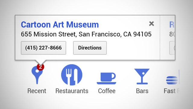 Google Search Automatically Syncs Location Searches Between Your Computer and Mobile Device