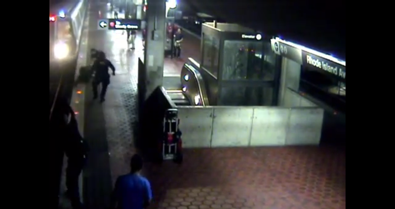 Watch D.C. Cops Save A Man Who Tries To Kill Himself, Changes His Mind