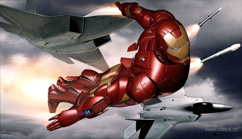 The Motherlode of Iron Man Concept Art