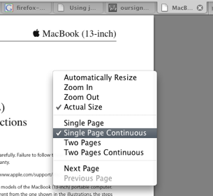 Quartz PDF Displays Inline PDFs in Firefox 3