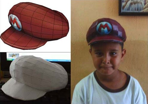 Super Papercraft Mario: The Hat!