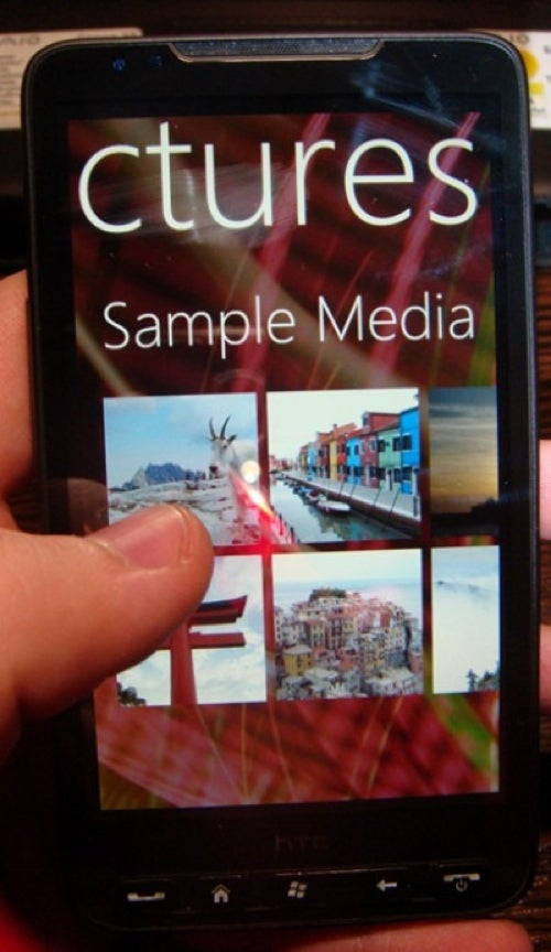 Windows Phone 7 Series ROM Spied Running On HTC HD2?