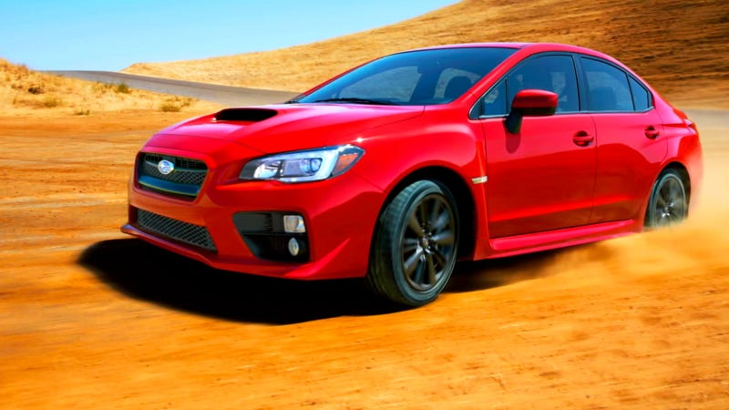 Here's The 2015 Subaru WRX In Its Natural Element