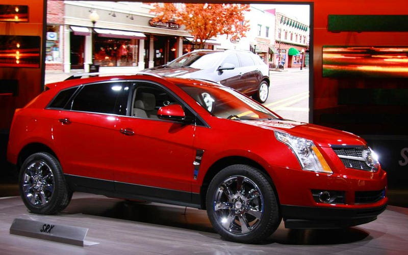 2010 cadillac srx when luxury crossover meets midsize suv. Black Bedroom Furniture Sets. Home Design Ideas