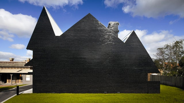 This Schoolhouse Looks Like Bowser's Carbon Fiber Castle