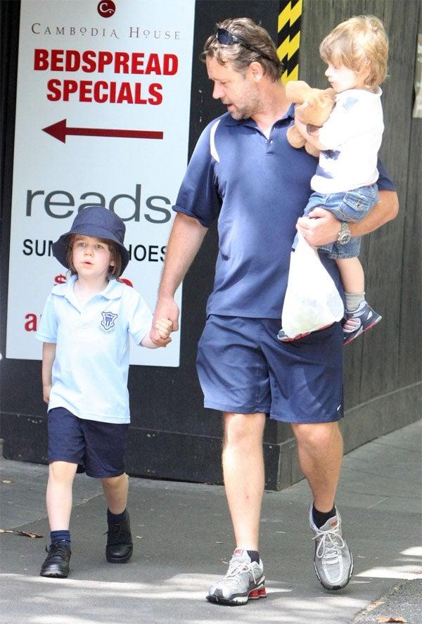 Russell Crowe Kids 18j...
