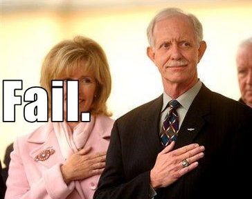 Captain Chesley 'Sully' Sullenberger: Traitor