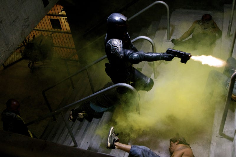 Drokk Yeah! Brand New High Res Dredd Photos!